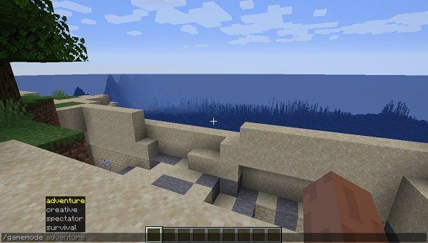 Comando su Minecraft
