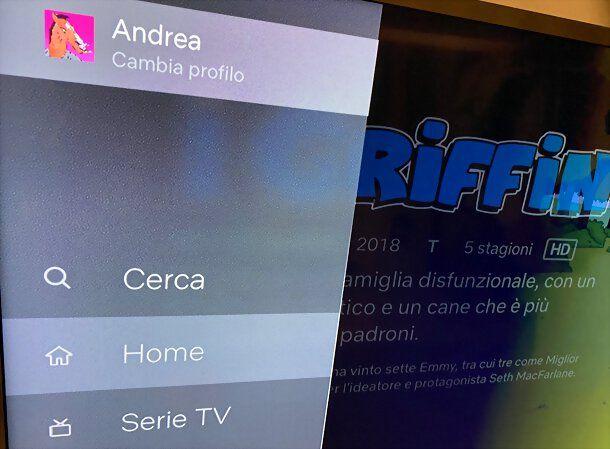 Cambiare account Netflix su Apple TV
