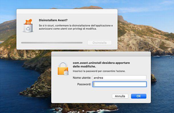 Come disinstallare antivirus su Mac