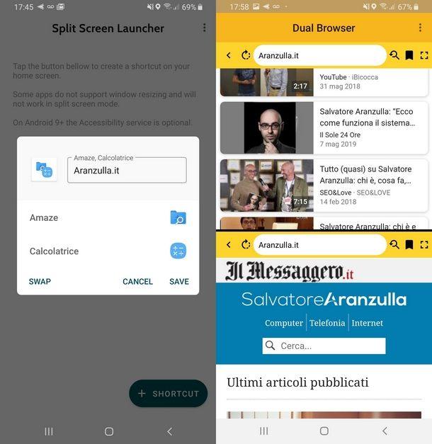 Come dividere lo schermo in due Samsung usando app terze parti