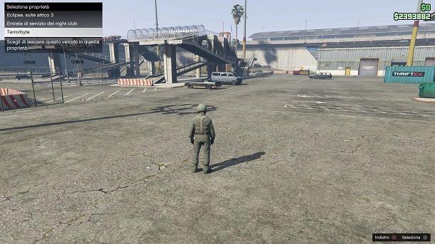 Spostare Terrorbyte GTA Online