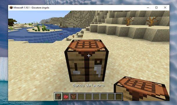 Banco da lavoro Minecraft