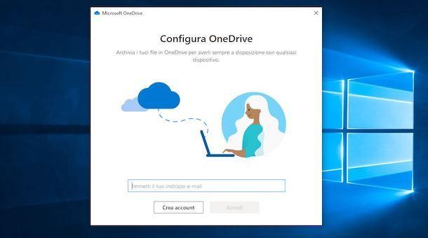 Accedere a OneDrive da computer