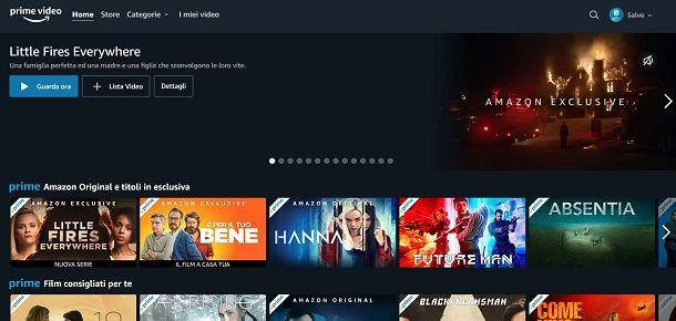 Prime Video su PC