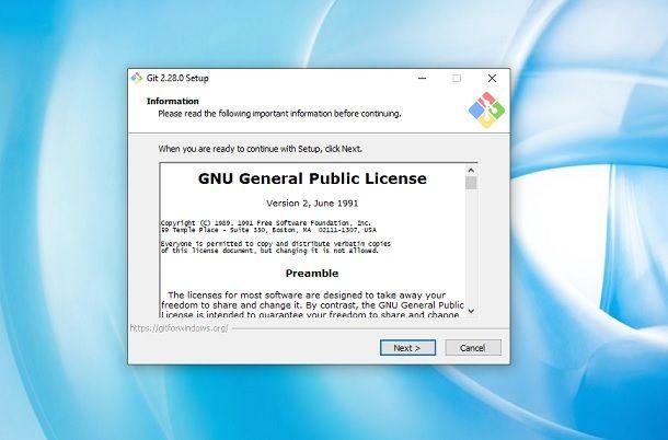 Installare Git su Windows