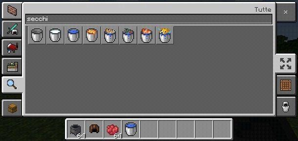 Inventario Minecraft PE