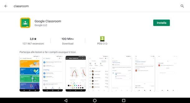 Come scaricare Classroom su Android