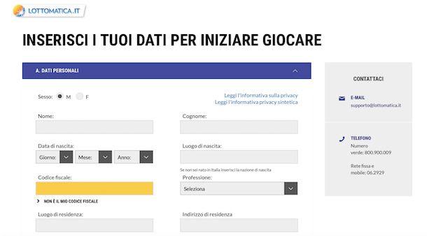 10eLotto Online