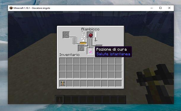 Pozione di cura Minecraft