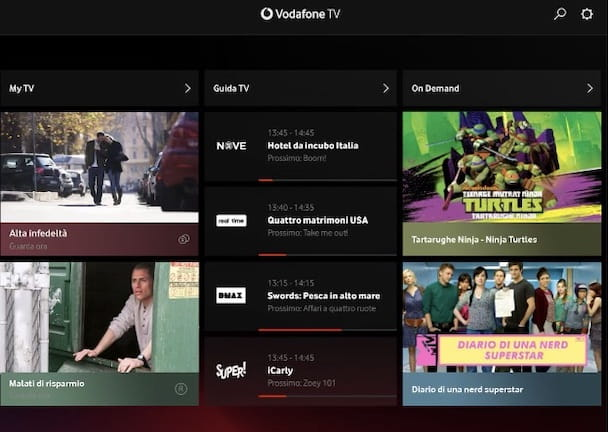 Come usare Vodafone TV Box