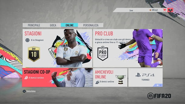 Stagione co-op FIFA