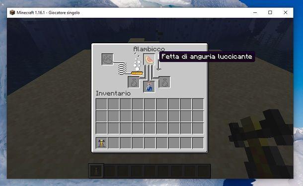 Fetta anguria luccicante Minecraft