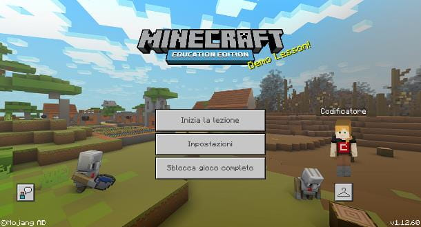 Come installare Minecraft Education Edition