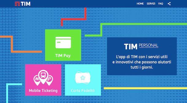 Informazioni TIM Pay