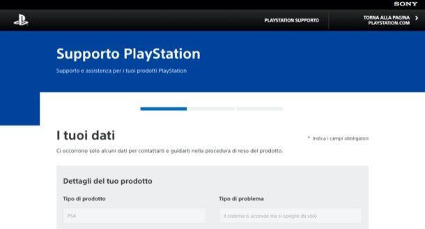 Sito di PlayStation