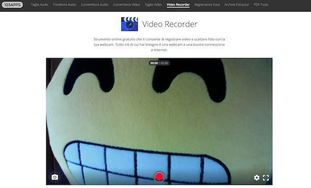 Video Recorder di 123apps