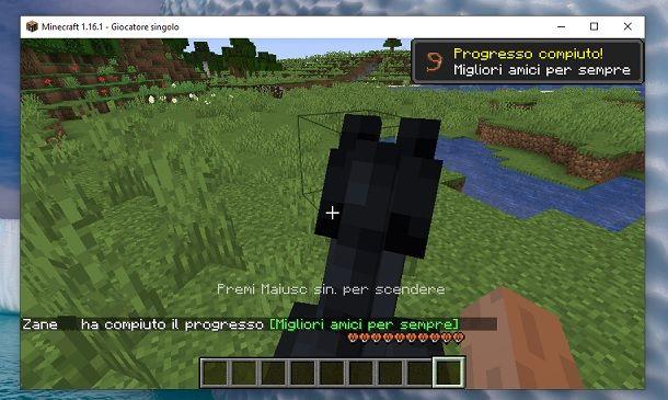 Addomesticare cavallo Minecraft