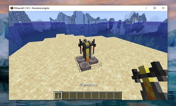 Alambicco Minecraft