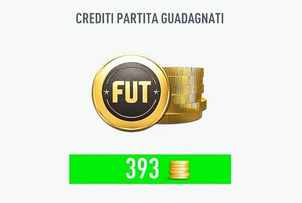 Crediti partita FIFA