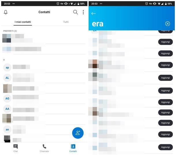 Come usare Skype sul cellulare