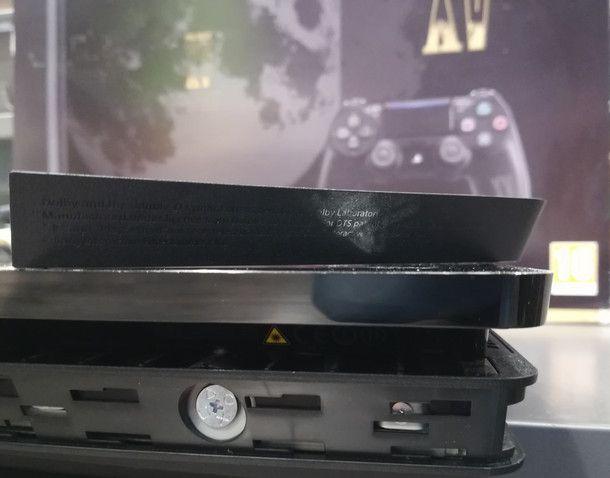 Rimontare correttamente l'hard disk su PS4 Slim