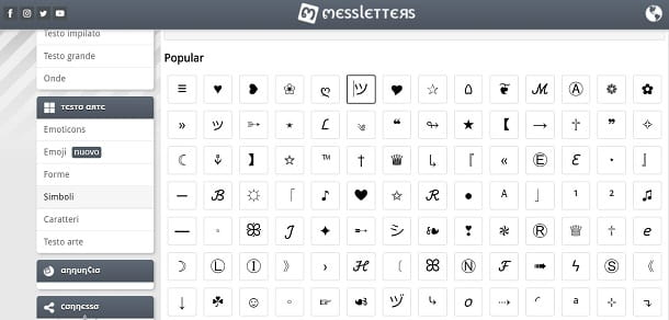 Messletters