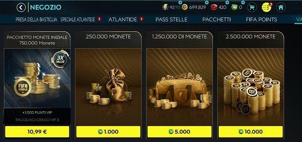 Come comprare crediti su FIFA Mobile
