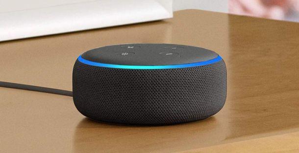 Come aggiornare Alexa Echo Dot