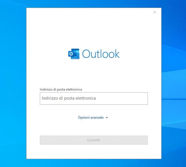 Come accedere ad Outlook
