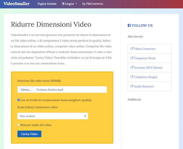 VideoSmaller