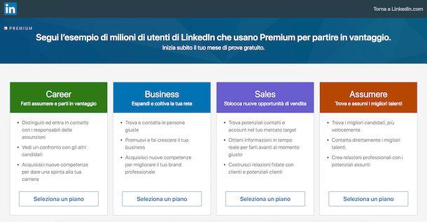 Cercare offerte di lavoro su LinkedIn