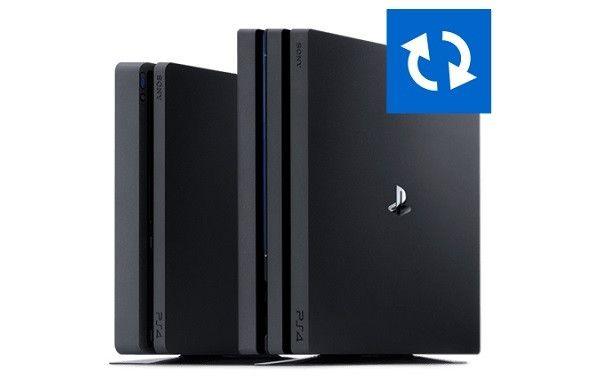Aggiornare la PS4 prima di cambiare l'hard disk