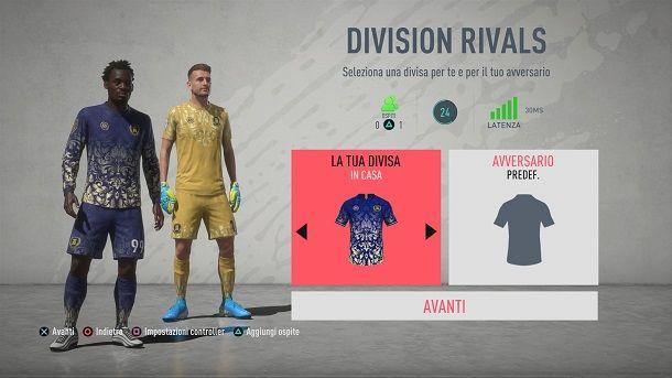 FIFA Division Rivals