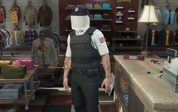 Uniforme antisommossa GTA Online
