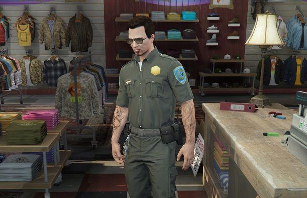 Uniforme polizia GTA Online