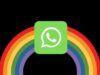 Come scrivere arcobaleno su WhatsApp