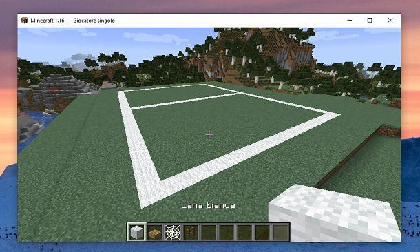 Lana bianca Minecraft
