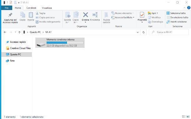 Come trasferire file da PC ad Android