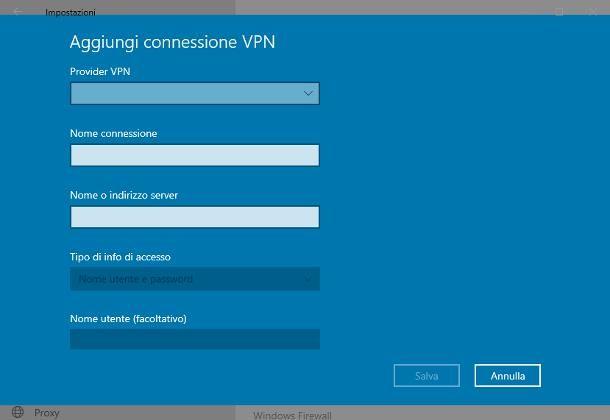 Come stampare senza stampante tramite rete/VPN
