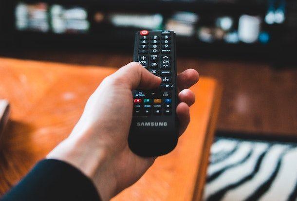 TV Samsung sottotitoli