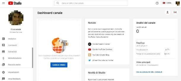Procedura per attivare la monetizzazione su YouTube