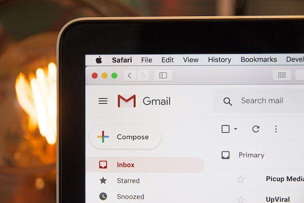Info preliminari su Gmail