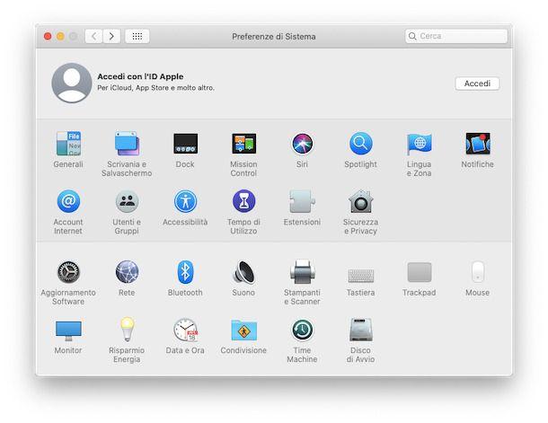 ID Apple Mac