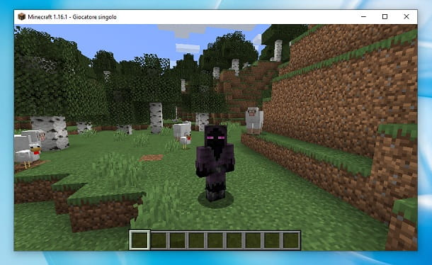 Cloacked Enderman Minecraft