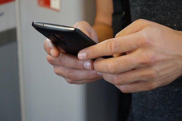 Segreteria personalizzata sullo smartphone