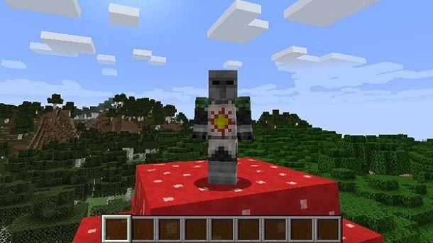 Solaire di Astora Minecraft