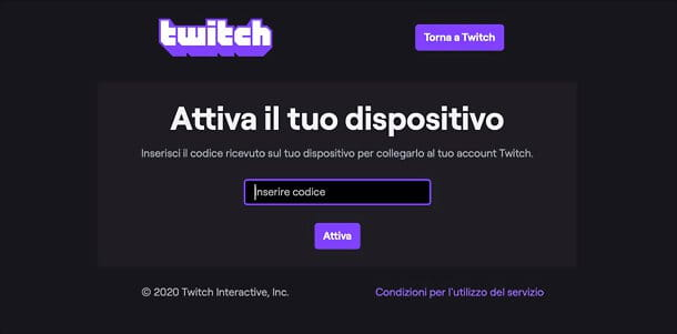 Sito Twitch