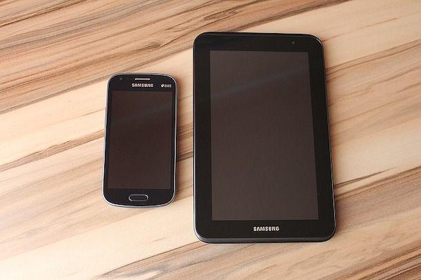 Registrazione schermo smartphone e tablet