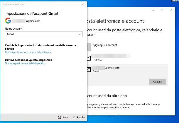 Come eliminare un account Google dal PC