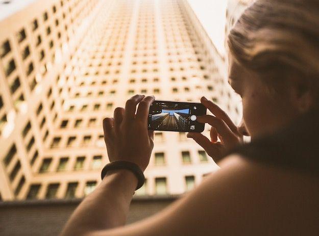 Fotografare con il cellulare